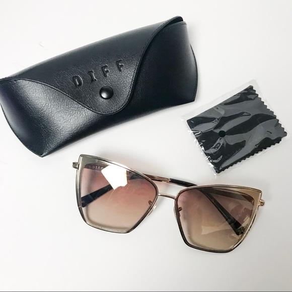 e33f8425f74 Diff Eyewear Accessories - DIFF Eyewear Becky Cat Eye Sunglasses